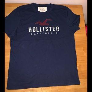 Men's xl Hollister T-shirt blue